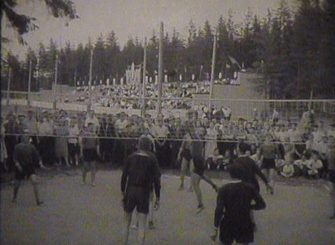 Physical training and sports in the USSR. Newsreel Stock Video Footage