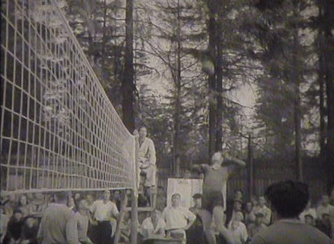 Sports In The Ussr. Newsreel