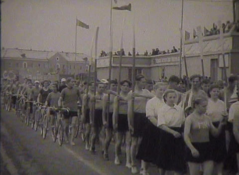 Sports In The Ussr. Newsreel 2