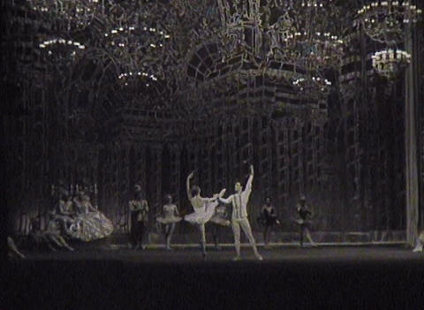 Theater of the USSR, newsreel Stock Video Footage