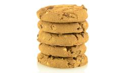 Chocolate chip cookies Footage