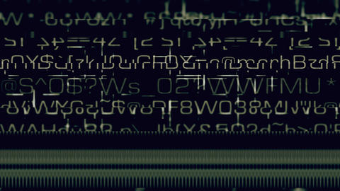 Data Glitch 048: Streaming data malfunction Animación