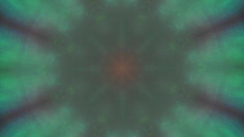 Abstract mandala nostalgic elegant iridescent background Footage