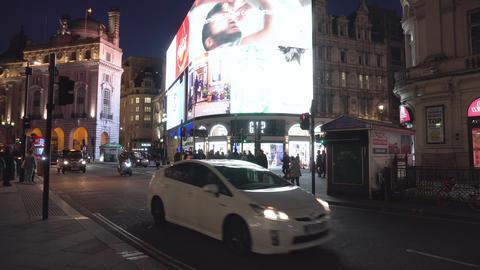 London, United Kingdom - May 14, 2019: Public transportation around Piccadilly Footage