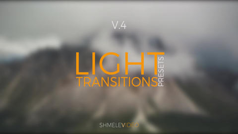 Light Transitions Presets V.4 Premiere Pro Template
