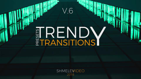 Trendy Transitions V.6 Premiere Pro Template