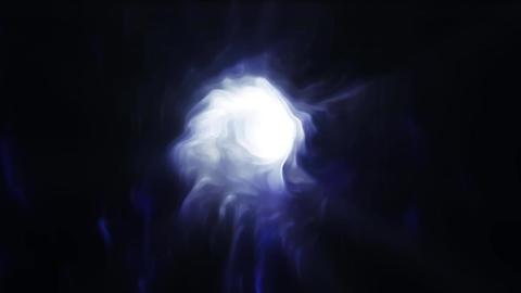 Indigo Fractal Abstract Background Animation Animation