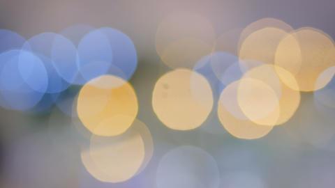 Christmas abstract bokeh garland Footage