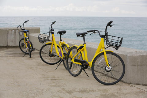Sea bike rental Photo
