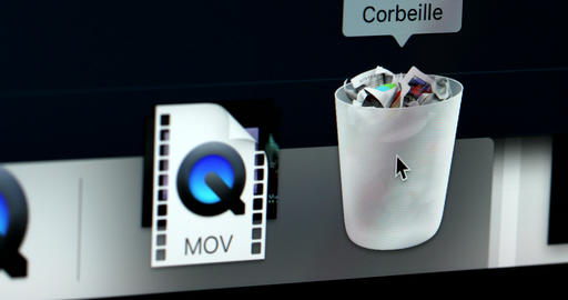 Trash Can iMac Footage