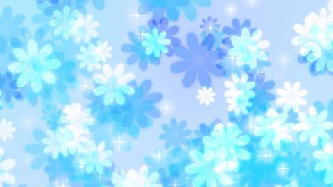 Flower-up-pastel-loop-blue Videos animados