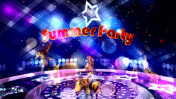 Summer Party. Background Animation