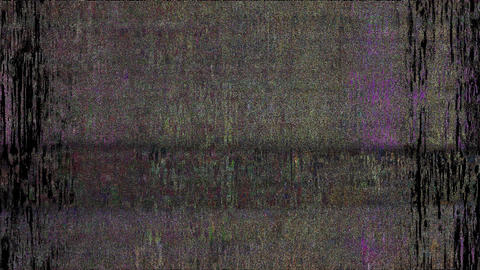 Supersonic Digital Pixel Noise Glitch Art Effect Animation