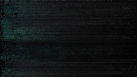 Solution Signal Niose Grain Damaged Glitch Video Background Animation