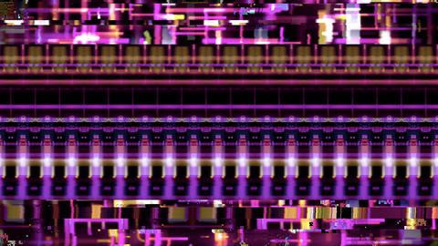 Data Glitch 050: Streaming data malfunction Animation