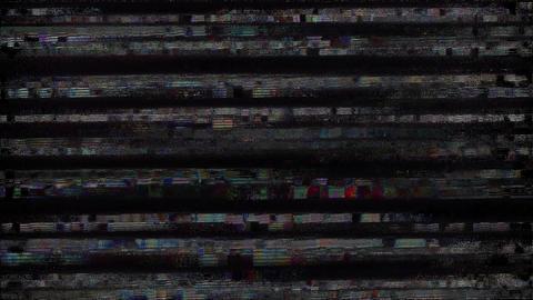 Insignia Signal Niose Grain Damaged Glitch Video Background Animation