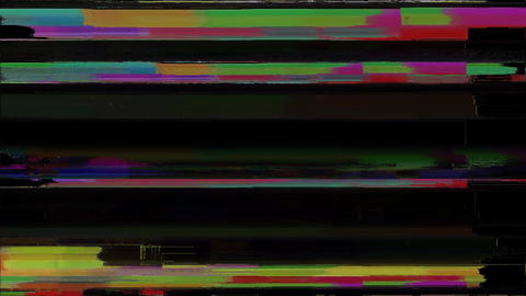 Quality Signal Niose Grain Damaged Glitch Video Background Animation