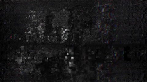 RedDragon No Signal On Television Gltich EffectTV Static Turning On And Off. Analog TV Noise Effect. Animation