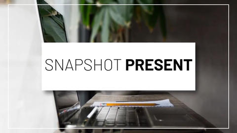 Snapshot Presentation After Effects Template