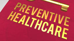 Key to Preventive healthcare concept Footage