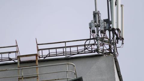 Mobile phone base station Live Action