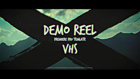 Demo Reel VHS Premiere Proテンプレート