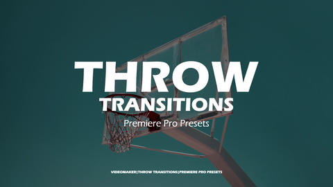 Throw Transitions Premiere Proエフェクトプリセット