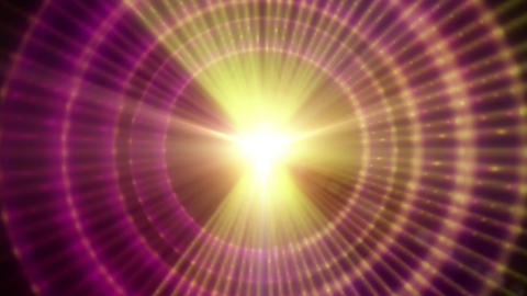 Pulsar 003: A graphic Pulsar star radiating light and pulsating energy Animation