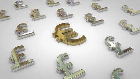 Pound Euro Animation