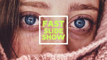 Fast Slideshow Premiere Pro Template
