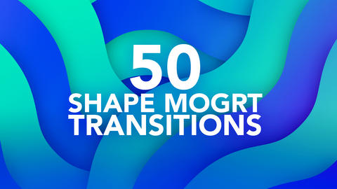 Transitions Motion Graphics Template