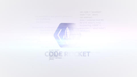 Quick Code Glitch Reveal After Effects Template