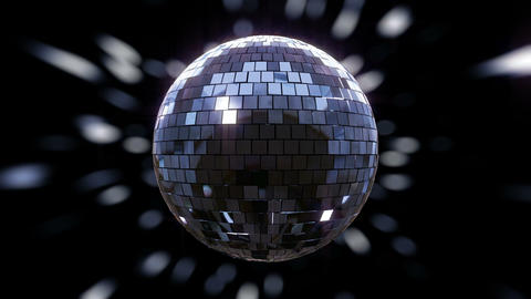 [alt video] Disco Ball shimmering and rotating loop