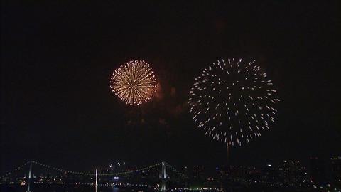 東京湾大華火祭 018 Footage