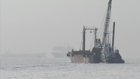 Yokohama bay01 Footage