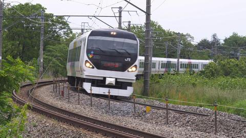 中央本線E199 003 Footage
