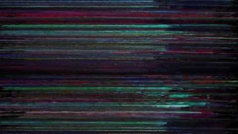 Argon Signal Niose Grain Damaged Glitch Video Background Animation