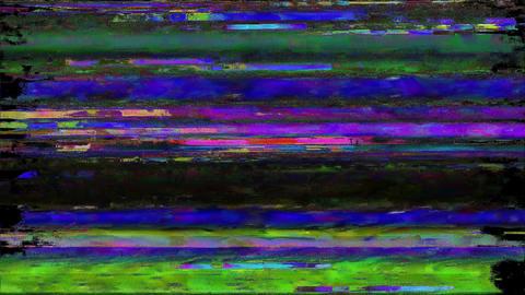 Analogue Glitchy Bad VHS Tape Peak Animation