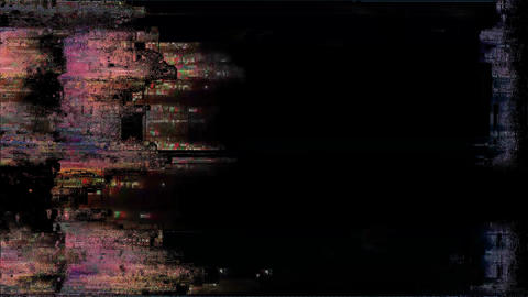 CuttingEdge Distortion Background Digital Glitch Animation