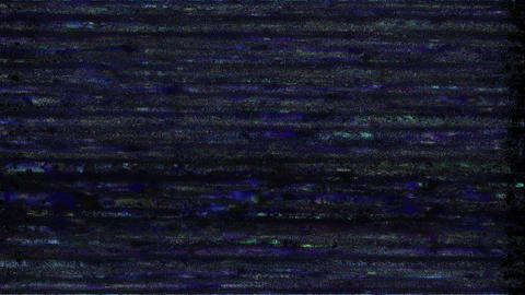 Embedded TV Failure Abstract Lights Background, Television Glitch And Damage Animation