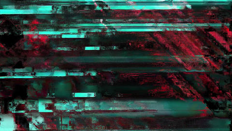 Anthem Signal Niose Grain Damaged Glitch Video Background Animation