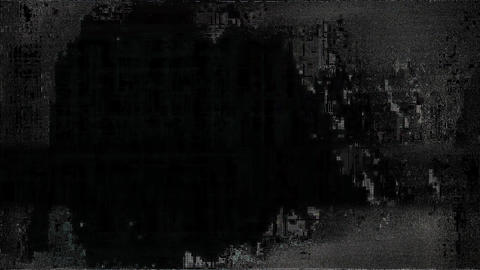 Glitch TV Static Noise Distorted Signal Problems Brew Animation