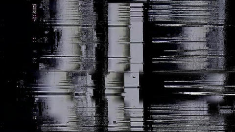 Noise Glitch Tv Bad Signal Effect Clear Animation
