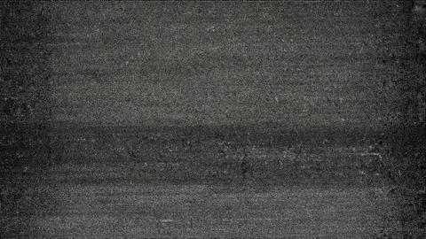 Perfection Digital Old Tv Screen Glitch Interference Animation Animation