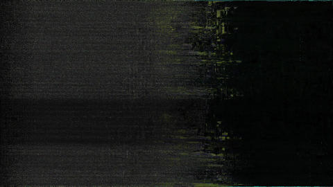 Process Glitch And Noise Digital Effect Animation