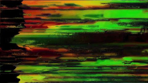 Restore Unique Design Abstract Colorful Noise Glitch Video Damage Animation