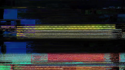 QuantumLeap Digital Animation. Pixel Noise Glitch Error... Stock Video Footage