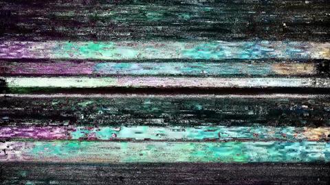 Rainmaker Glitch. Computer Screen Error. No Signal Animation