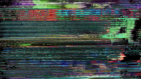 Vital Abstract Digital Animation Pixel Noise Glitch Error Video Damage Animation