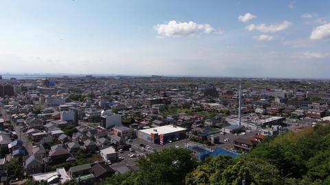 Japan's cityscape. View Ichihara City from Kisarazu City, Chiba Prefecture ライブ動画